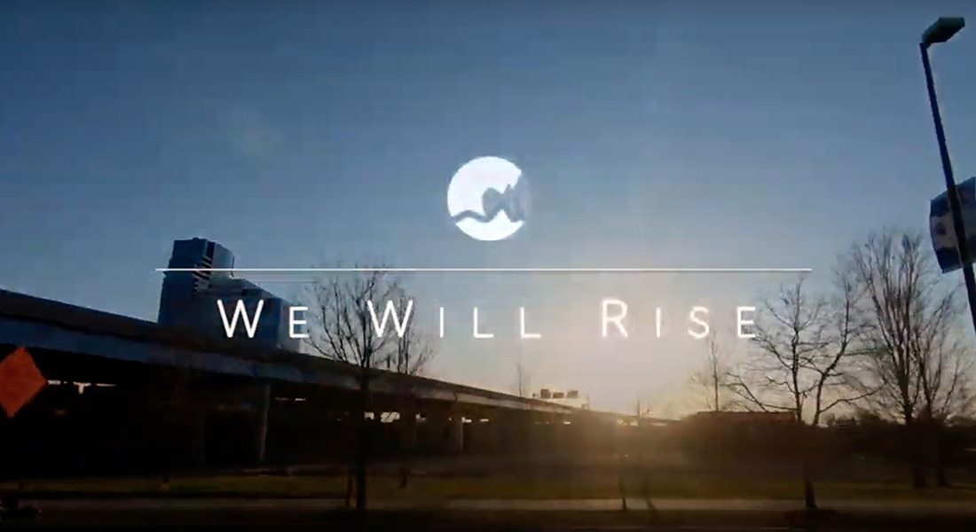 We Will Rise Video Title Page